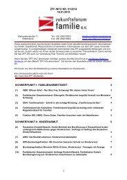 ZFF-INFO NR. 01/2014 16.01.2014 1 SCHWERPUNKT I ...