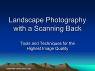 Landscape Photography with a Scanning Back - Better Light Inc.