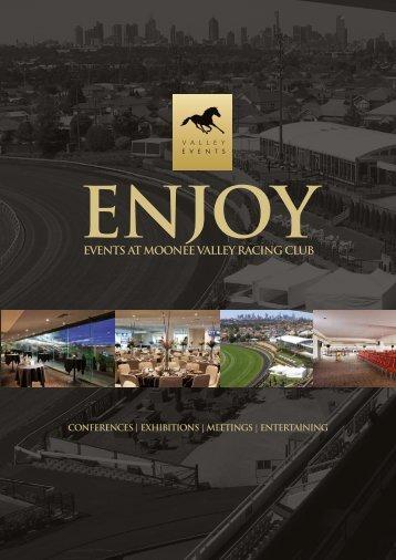 2012 Non-Raceday Events Brochure - Moonee Valley Racing Club