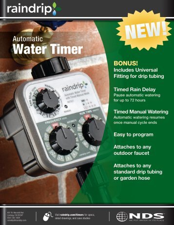 Water Timer - NDS