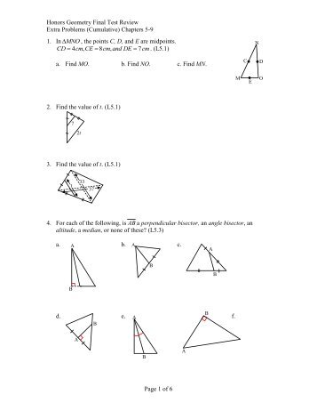 geometry honors chapter 2 study guide Geometry chapter 2 practice test answer key 1 conditional: if two angles are supplementary, then they have a sum of 180 degrees converse: if two angles have a sum of 180 degrees, then they are supplementary 2.
