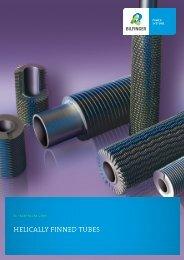 HELICALLY FINNED TUBES - Bilfinger Rosink GmbH
