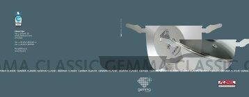 gemma classic gemma classic gemma classic ... - FLONAL SpA