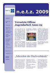Tätigkeitsbericht n.e.t.z. 2009