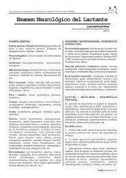 Examen Neurológico del Lactante - Sociedad de Pediatría de ...
