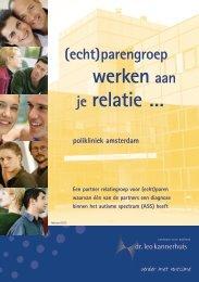(Echt)parengroep - Dr. Leo Kannerhuis