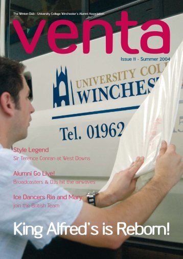Issue 11.qxd - University of Winchester
