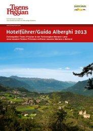 zum Download - Tourismusbüro Tisens Prissian