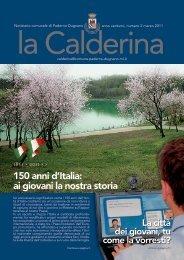 Marzo 2011 - Sito Istituzionale del Comune di Paderno Dugnano