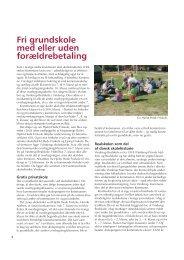 Fri grundskole med eller uden forældrebetaling - Friskolebladet