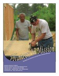 Volunteers In Mission Booklet - Okumcministries.org