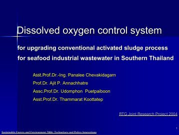 Dissolved oxygen control system - The Joint Graduate School of ...