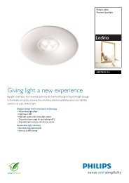 Brochure - LED Lighting from LEDVISTA