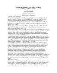 joyas de los testimonios tomo 2.pdf - IglesiaAdventistaAgape.org