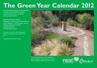 The Green Year Calendar 2012 - Chelmsford Borough Council