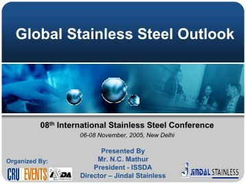Global Stainless Steel Outlook - Indian Stainless Steel Development ...