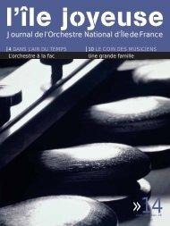 Téléchargez ici l'édition n° 14 (1952 Ko) - Orchestre national d'Ile-de ...