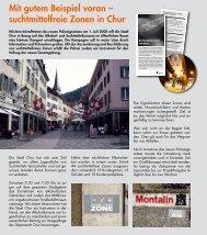Mit gutem Beispiel voran – suchtmittelfreie Zonen in Chur - Signal AG