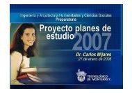 Academias - Tecnológico de Monterrey