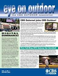 Winter 2009 - CBS Outdoor