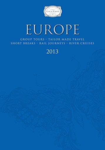 Cox & Kings Europe 2013 Brochure - Travel Club Elite