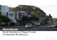 MASTERPLAN North Narrabeen Village Centre ... - Pittwater Council