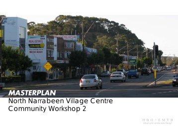 MASTERPLAN North Narrabeen Village Centre ... - Pittwater Council