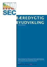BÆREDYGTIG BYUDVIKLING - musec