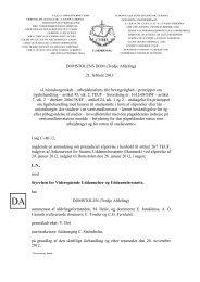 DOMSTOLENS DOM (Tredje Afdeling) 21. februar 2013 ...