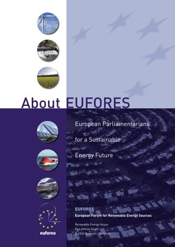 Brochure About EUFORES.indd