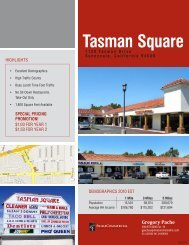 tasman Square - Prime Commercial, Inc