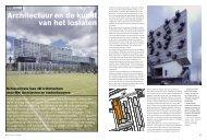 Architectuur en de kunst van het loslaten - Schiecentrale