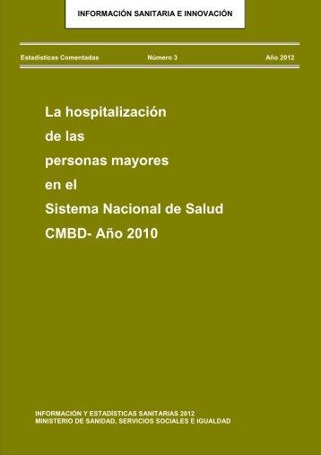 La hospitalización de las personas mayores en el Sistema Nacional ...