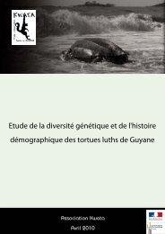 Etude de la diversité génétique et de l'histoire ... - WIDECAST