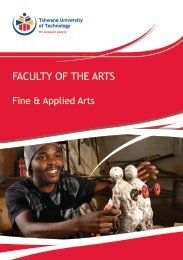 Fine & Applied Arts - Tshwane University of Technology