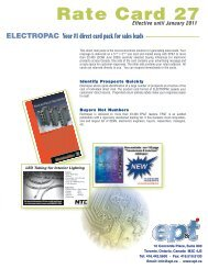 Rate Card 27 - Electronic Products and Technology