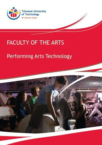Performing Arts Technology - Tshwane University of Technology