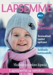 Lapsemme 1/2011 - Mannerheimin Lastensuojeluliitto