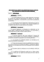 recomendaciones del Código Unificado de Buen Gobierno. - Tubacex