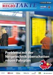 Probleme mit der Neigetechnik überschatten neuen Fahrplan - NVS ...