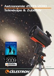 Celestron Teleskope 2009/2010 - swarovski optik: high-end ...