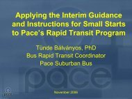 Applying the Interim Guidance and Instructions for ... - Rail~Volution