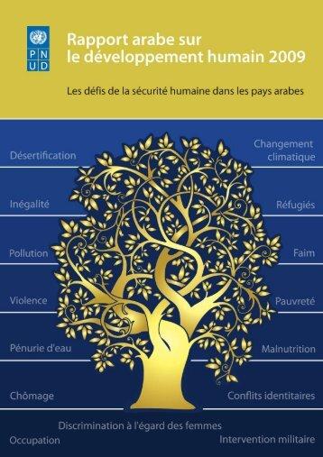 Rapport Arabe 2009 Les défis de la sécurité humaine dans les pays ...