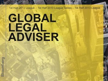 Legal Advisor - Bloomberg