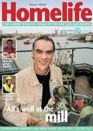 Homelife Winter 2004 - London & Quadrant Group