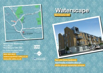 Waterscape West Drayton UB7 - London Borough of Hillingdon