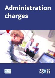 Administration charges - London & Quadrant Group