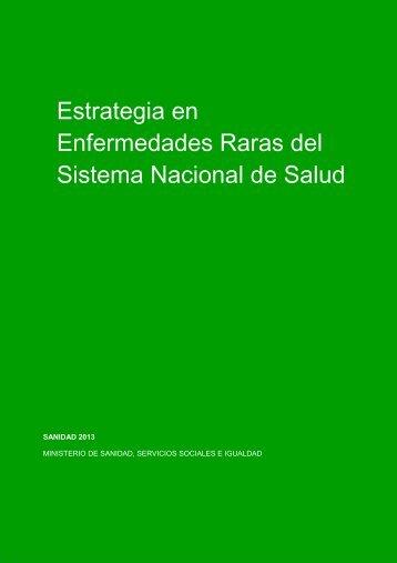 Estrategia_Enfermedades_Raras_SNS_2014