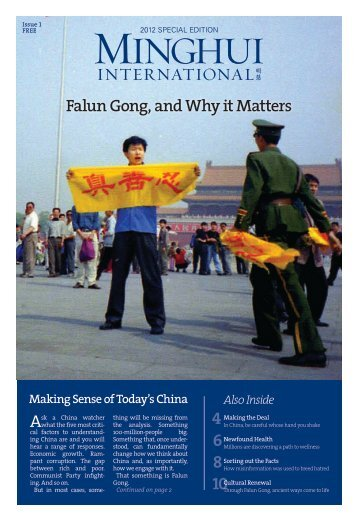 Falun Gong and Why it Matters - Falun Dafa Information Center