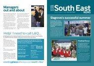 South East News - London & Quadrant Group
